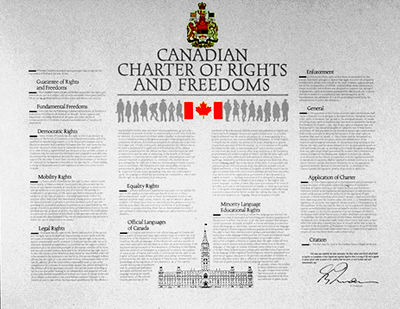 Sexual orientation charter of rights and freedoms expressed