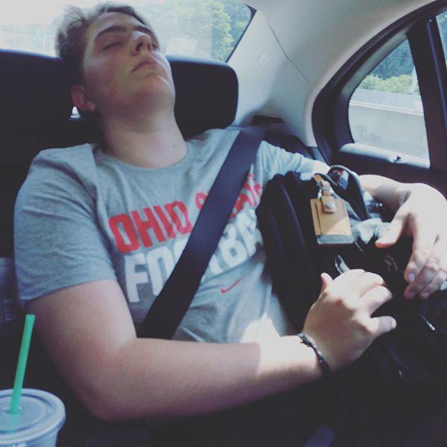 He looks how I feel. #tired #beat #hot #sweaty