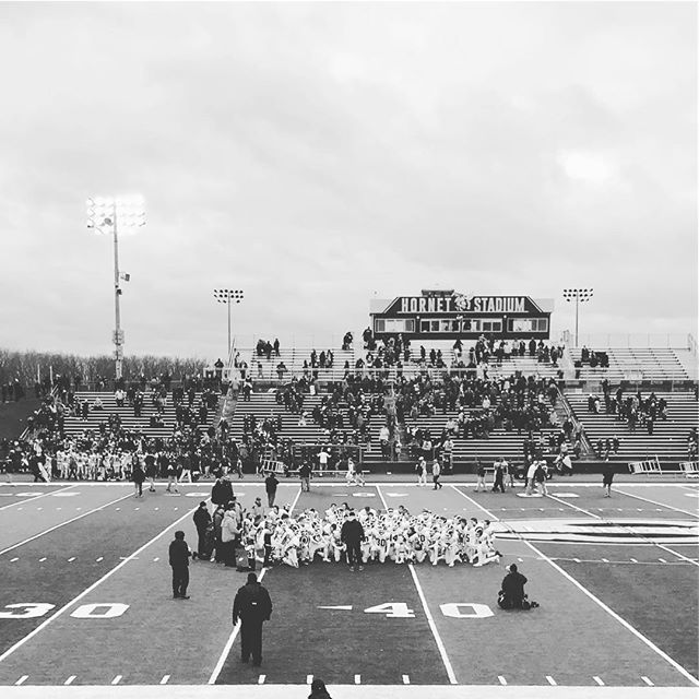 Here's to a great season boys. You did it in spite of being the underdog, for your team, and made us all proud. Hold your head and your horns up high. 🐏
