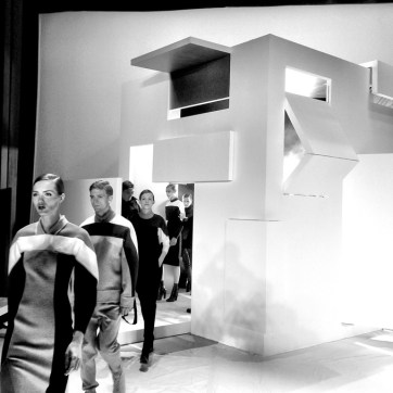 Lacoste. Photograph taken by BureauBetak, event designers and producers. NY Fashion Week Fall 2013
