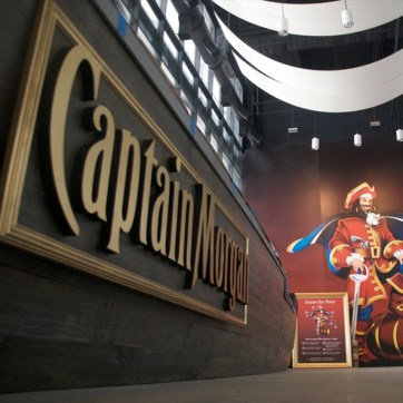 Captain Morgan Bar at MET Life Stadium