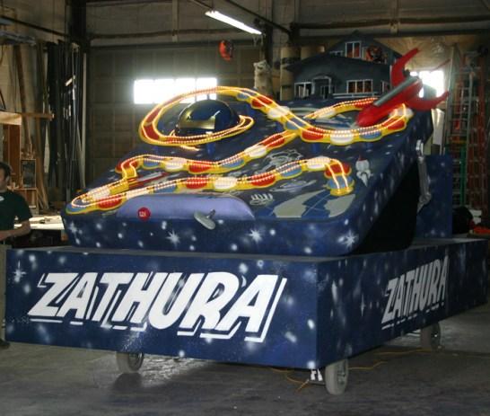 Zathura Float for Celebrity Apprentice 2005.
