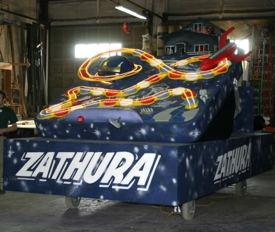 Zathura Float for Celebrity Apprentice 2005.