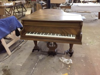 Replica piano for An American in Paris. Props Supervisor Kathy Fabian/Propstar