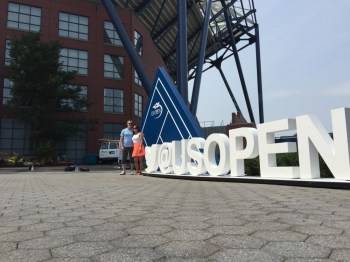 Signage built for the US Open. Designed and produced with AgencyEA