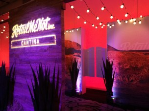 Designed by Provost Displays for a Retail Insiders Event. Scenery produced by JCDP