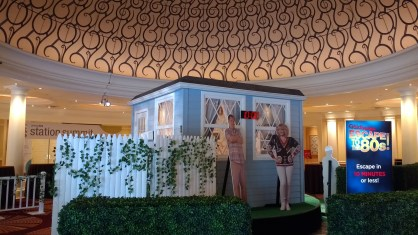 Recreation of The Goldbergs for a Sony and Escape Entertainment event in Las Vegas