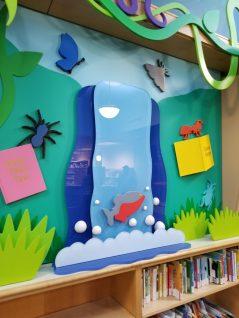Hewlett Woodmere Library. Design by Janice Davis Design