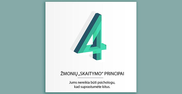 """4 """"žmonių skaitymo"""" principai"""