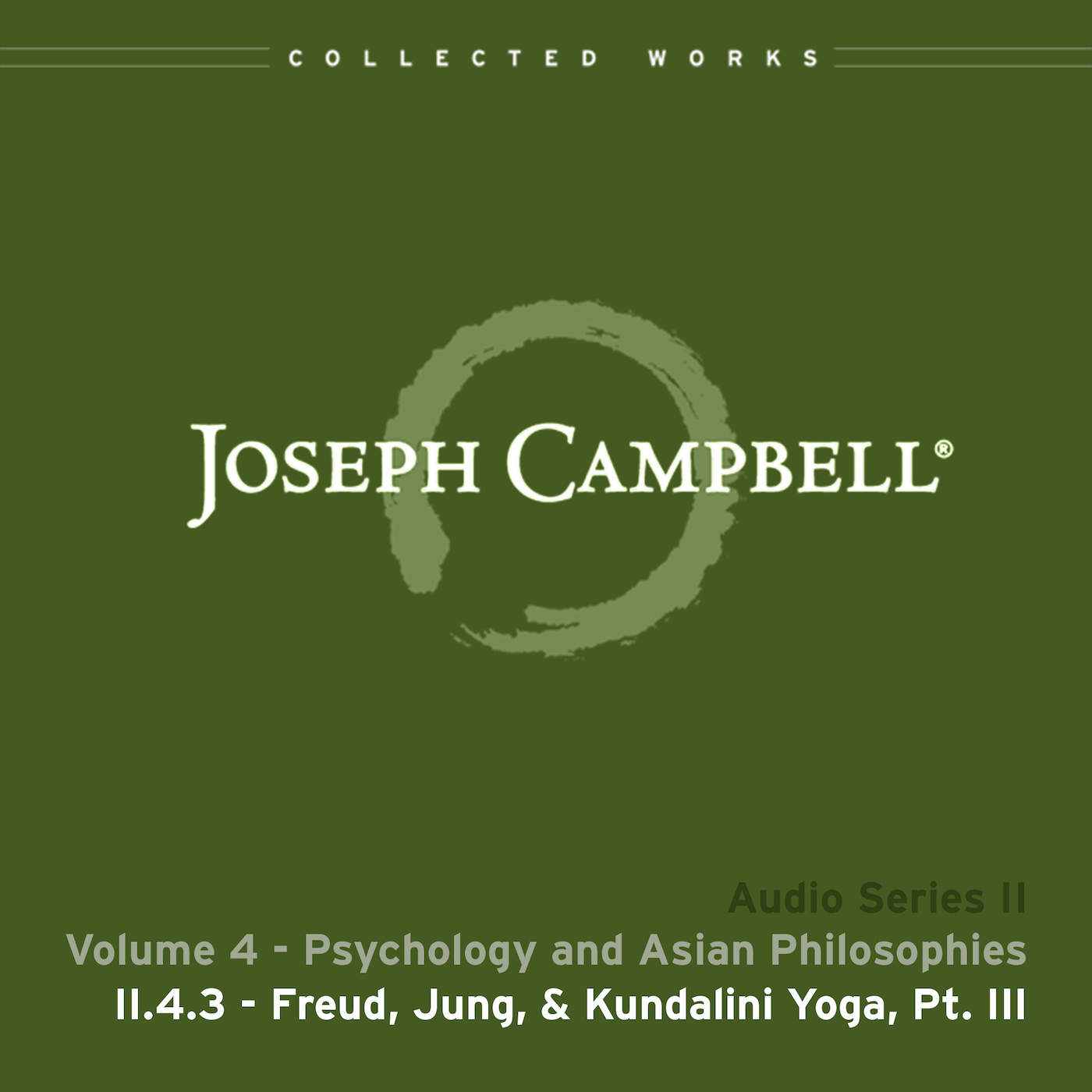 Audio: Lecture II.4.3 - Freud Jung & Kundalini Yoga Part 3