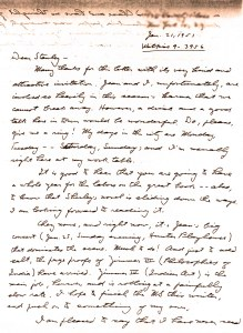 Letter from Joseph Campbell to critic Stanley Edgar Hyman (and his wife, author Shirley Jackson), 1951