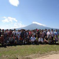 世界遺産 富士山とぶどう狩り 豊島区日中
