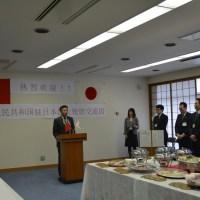 3/9 中華人民共和国駐日本国大使館の若手外交官 東京都北区議会を訪問
