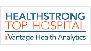 Named among the top HEALTHSTRONG hospitals in 2015