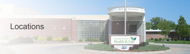Jefferson Community Health & Life Locations