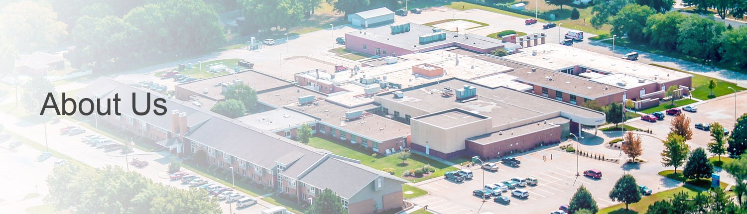Birds eye view of Jefferson Community Health & Life facilities