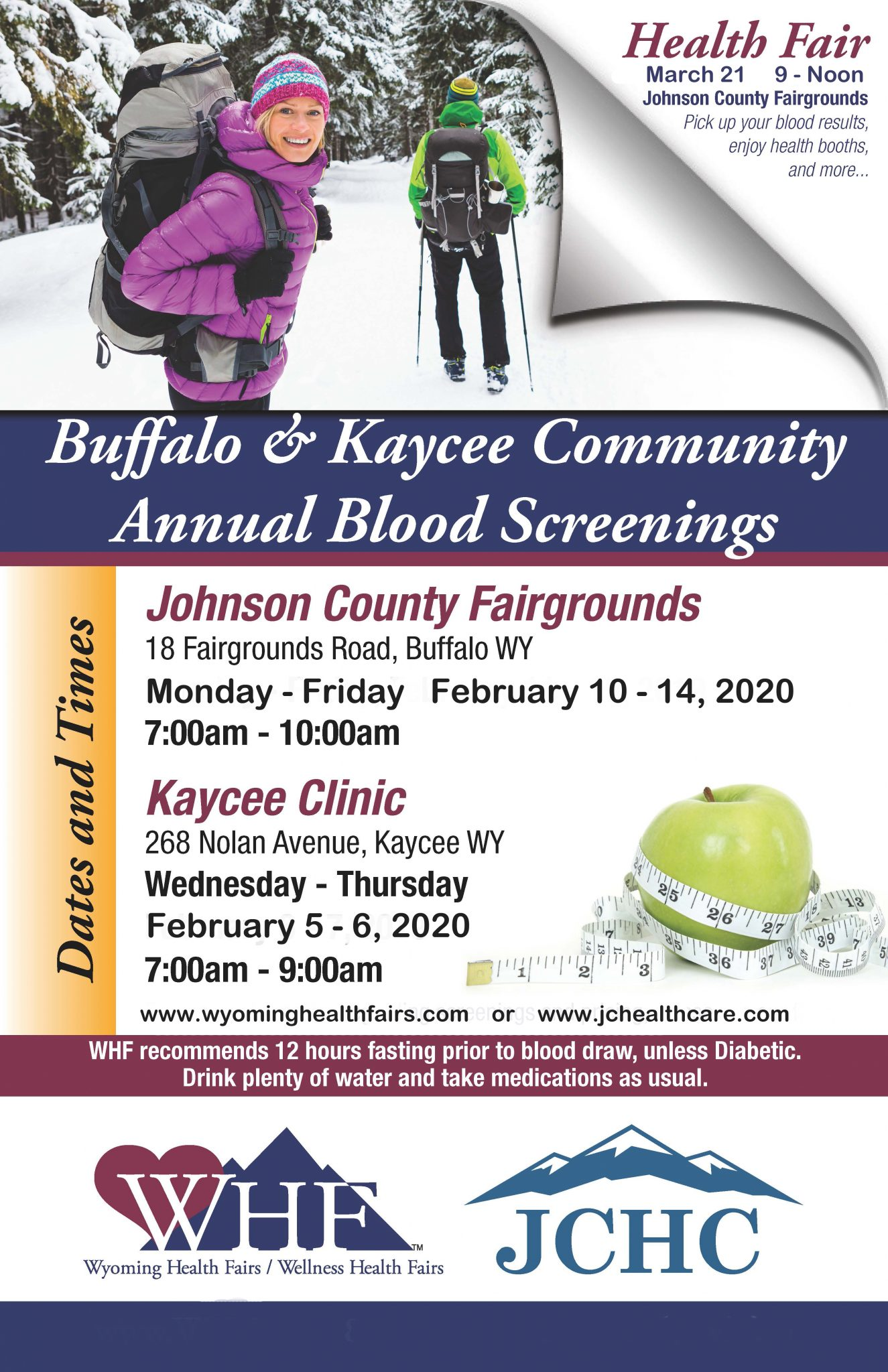 Buffalo_Kaycee Community Event Poster 2020