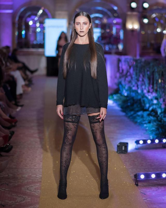 larazammit modeling for dizzgroupmalta Fashion Show wearing goldenpointofficial  Fashionhellip