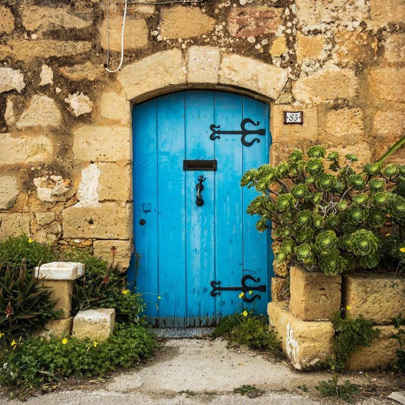 The Blue Door  Sunday Trekking Gozo ShotOniPhone JCiappara ProCamApphellip