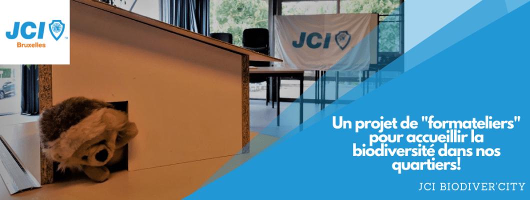 JCI Bruxelles – Projet JCI Biodiver'City