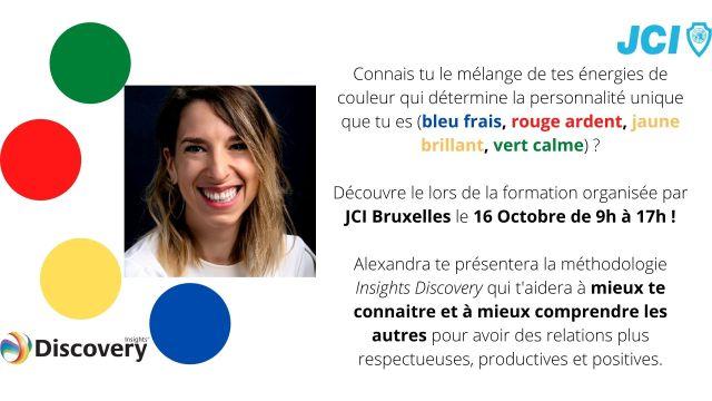 JCI Bruxelles organise une formation Insights le 16 Octobre