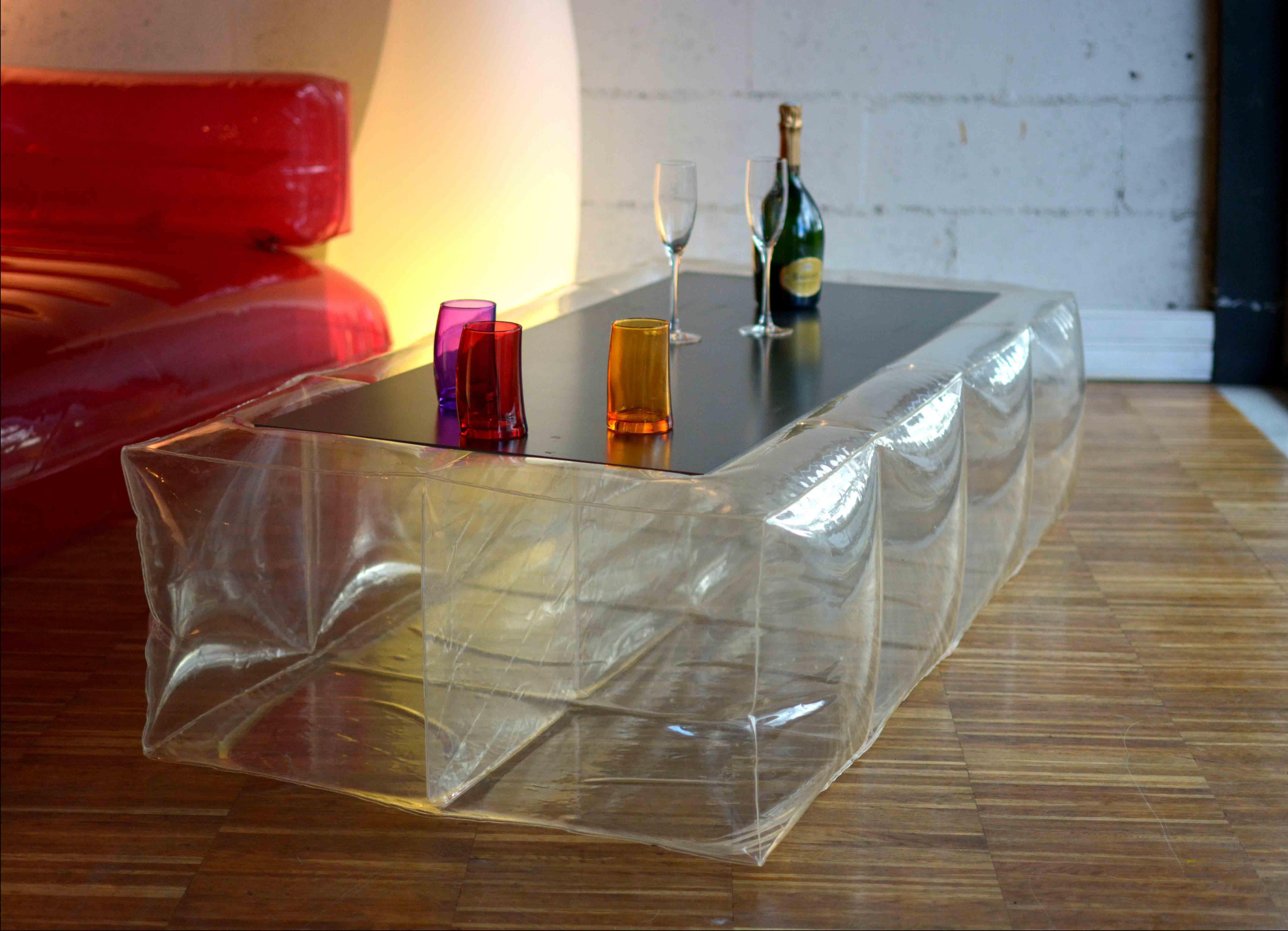 Table basse gonflable JC Keller