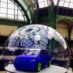 voiture dans une bulle 2