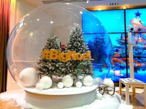 bubble decoration Christmas