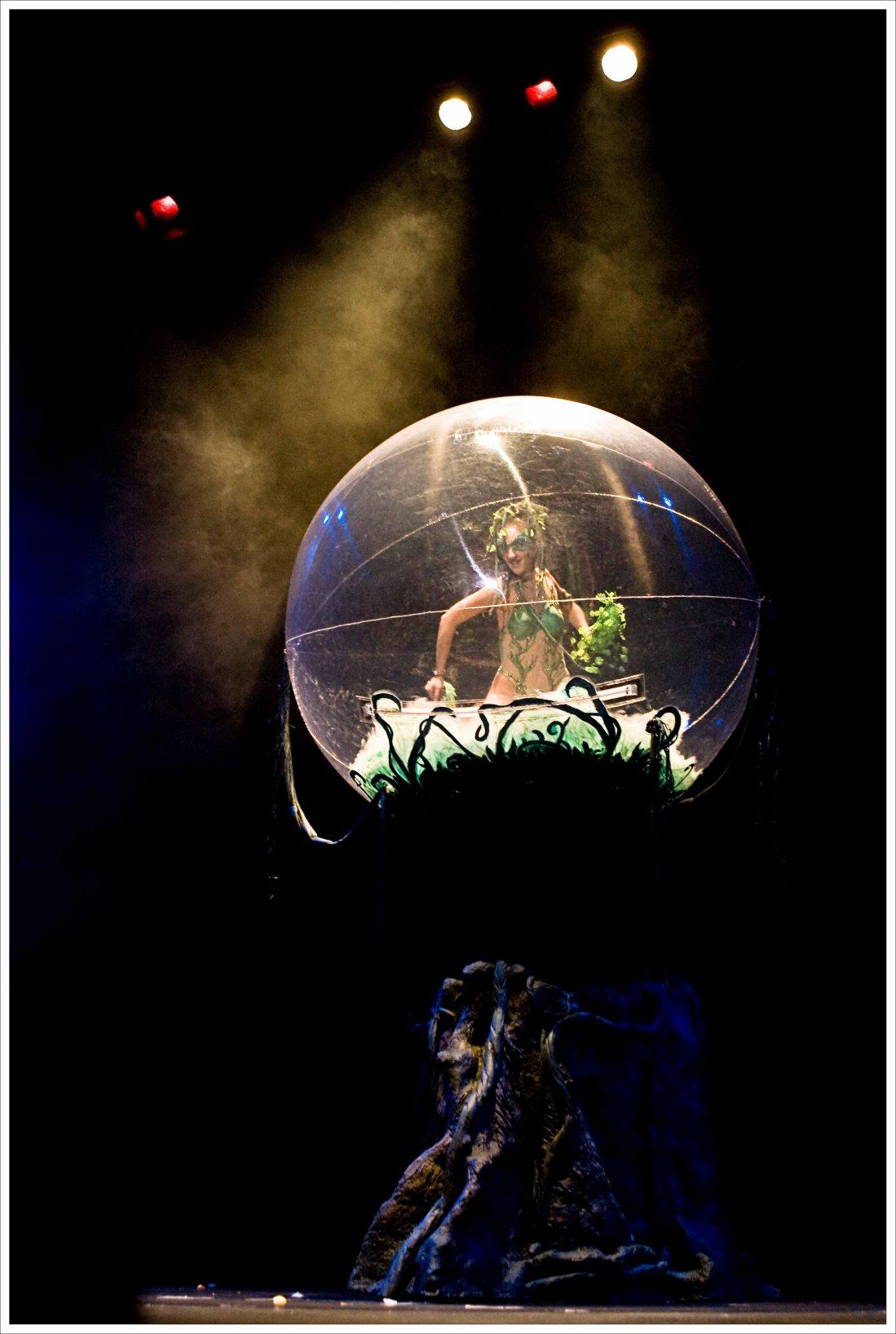 bulles de déambulation