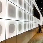 mur lumineux