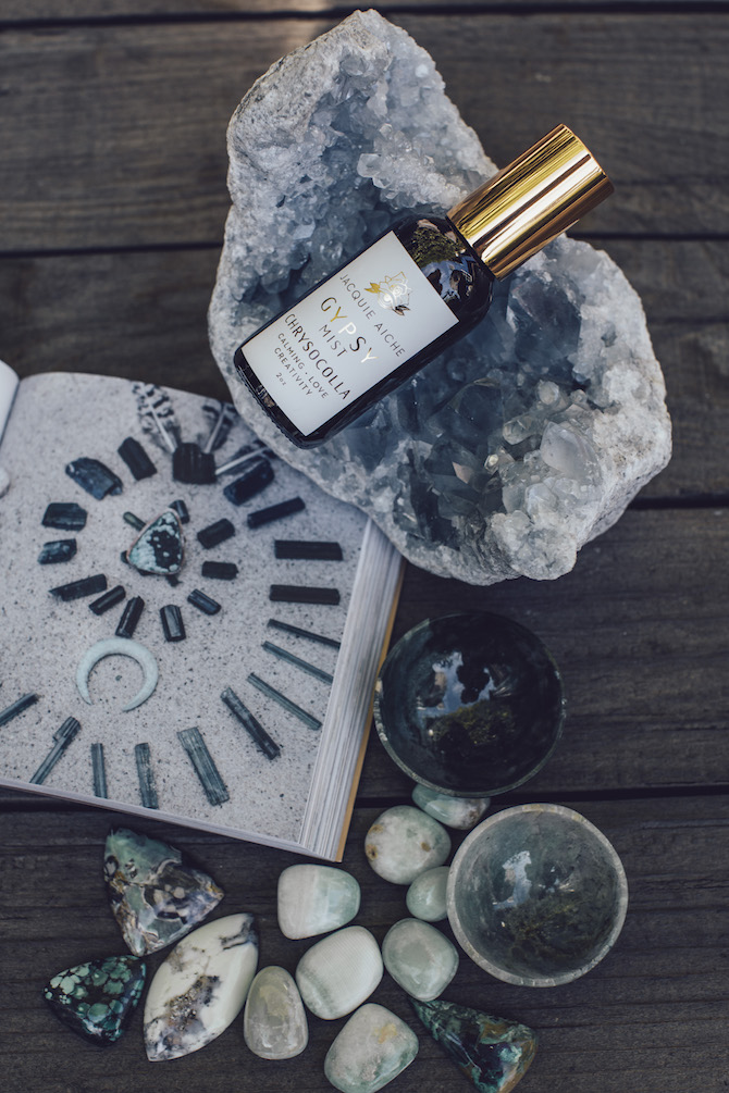 Jacquie Aiche crystal handbook and Gypsy products
