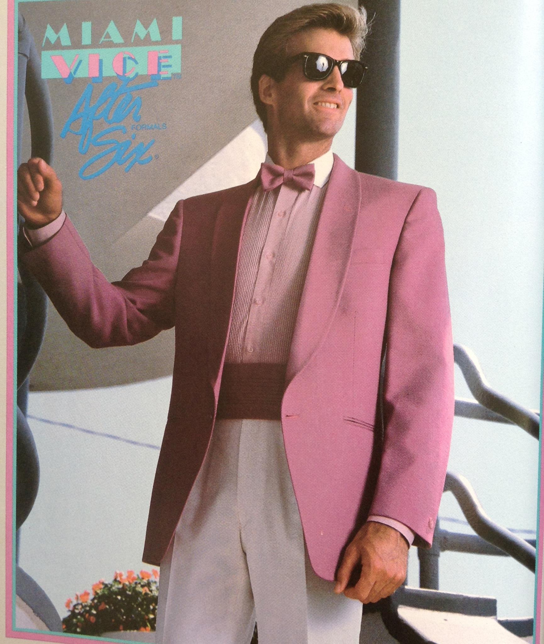 80s Formal Men Wear