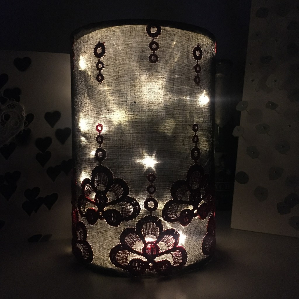 Inka Embroidered Lantern lights