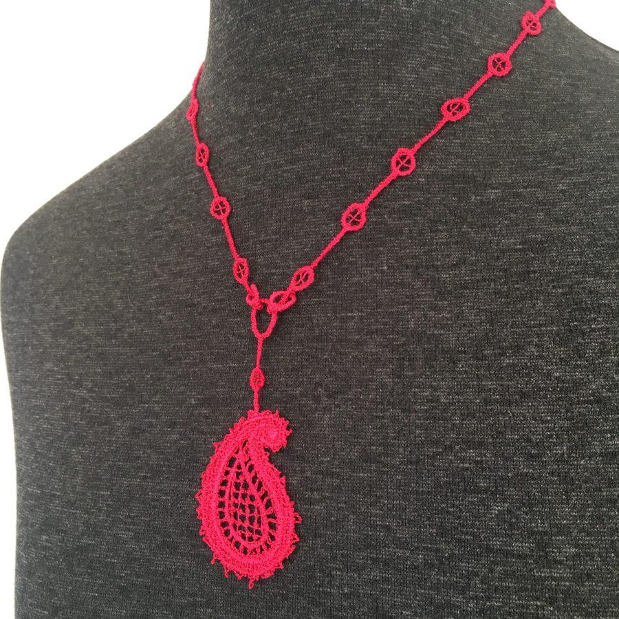 Paisley Lace Necklace