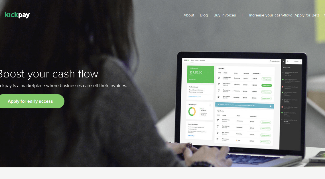 Kickpay Is A Platform Allowing Business To Sell Their Invoices - Sell your invoices