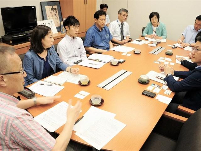 【豊洲新市場】 農水省に「開場認可やめよ」党国会議員・都議が申し入れ