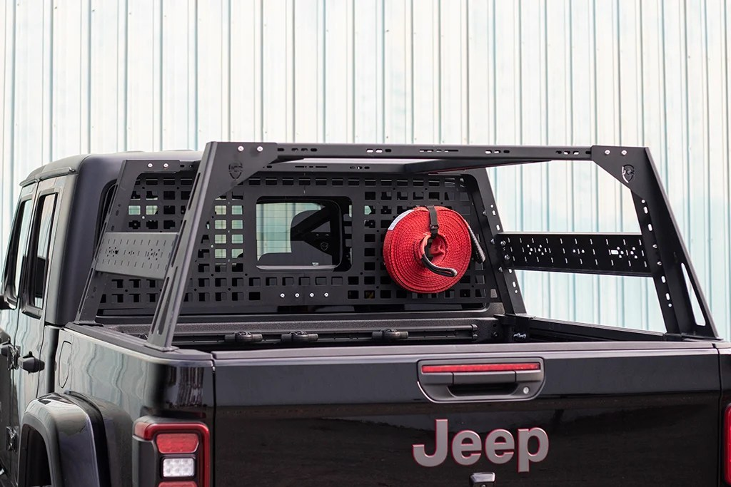 Jcroffroad Jt Bed Rack Headache Rack Molle Panel Jeep