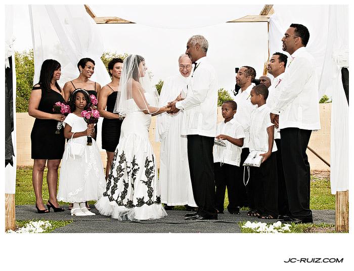 A Backyard Wedding in North Miami