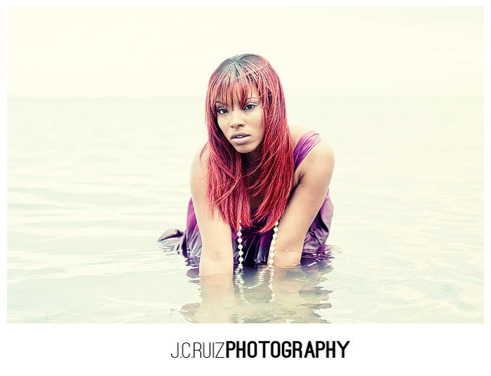 Camille in Water