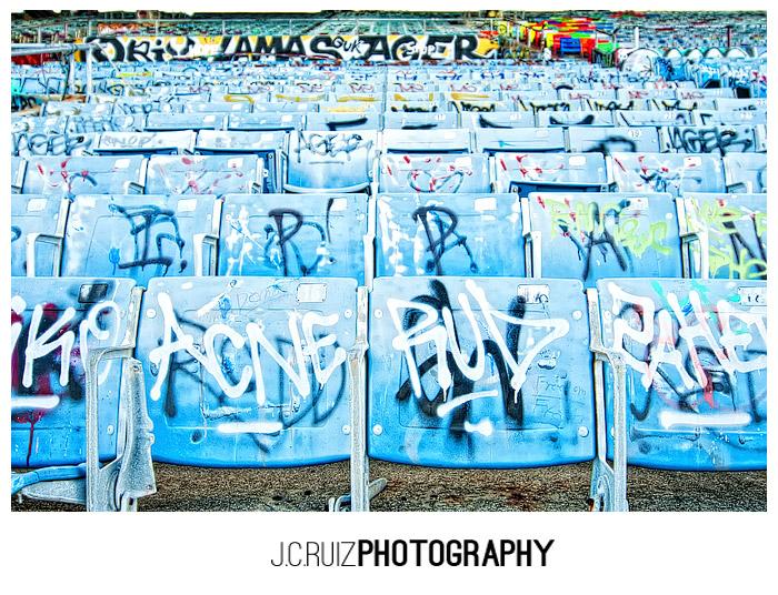 Miami Marine Stadium Chairs