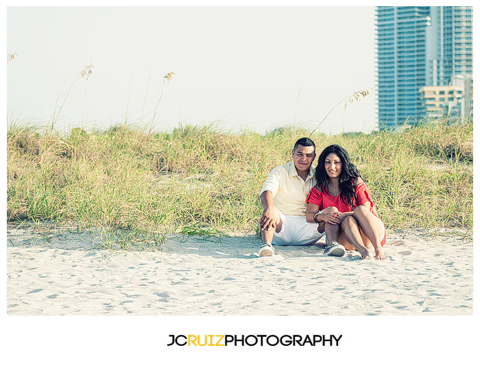 South Beach couple