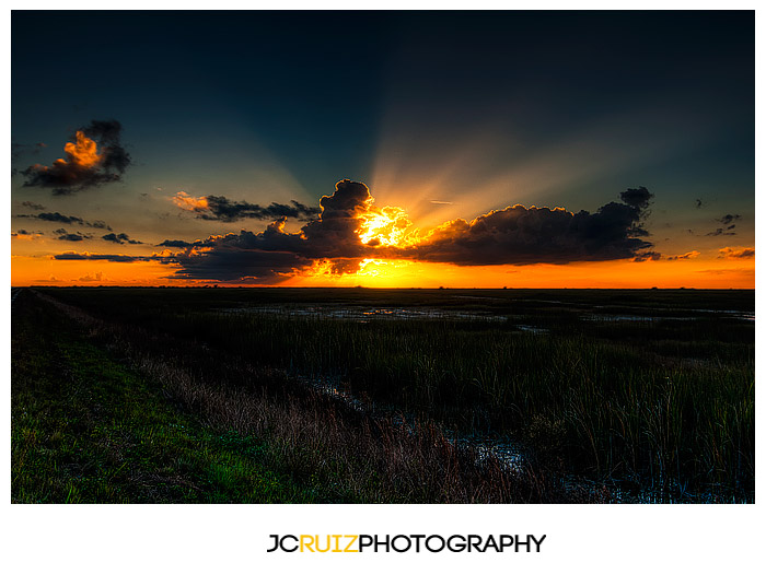 Everglades Sunset - JC Ruiz Photography