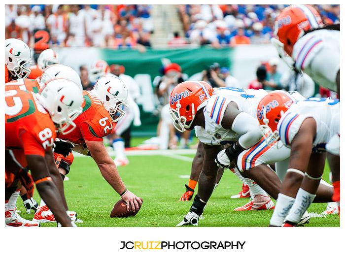 JC Ruiz Photography - Miami Hurricanes vs Florida
