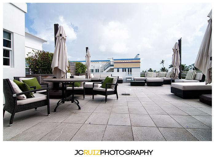 rooftop terrace Breakwater Hotel