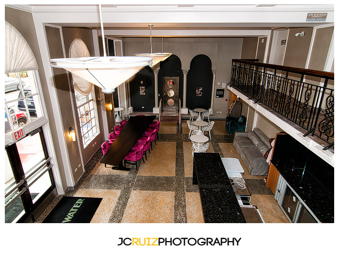 Aerial view of Breakwater Hotel Conference room