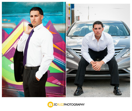 Wynwood Art District Male Model Shoot