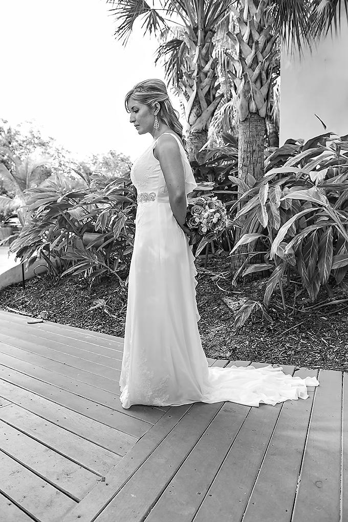 Florida Keys bridal portrait