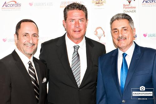 Eric Reid, Dan Marino and Tony Fiorentino