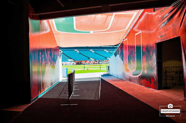 Sunlife Stadium Tunnel