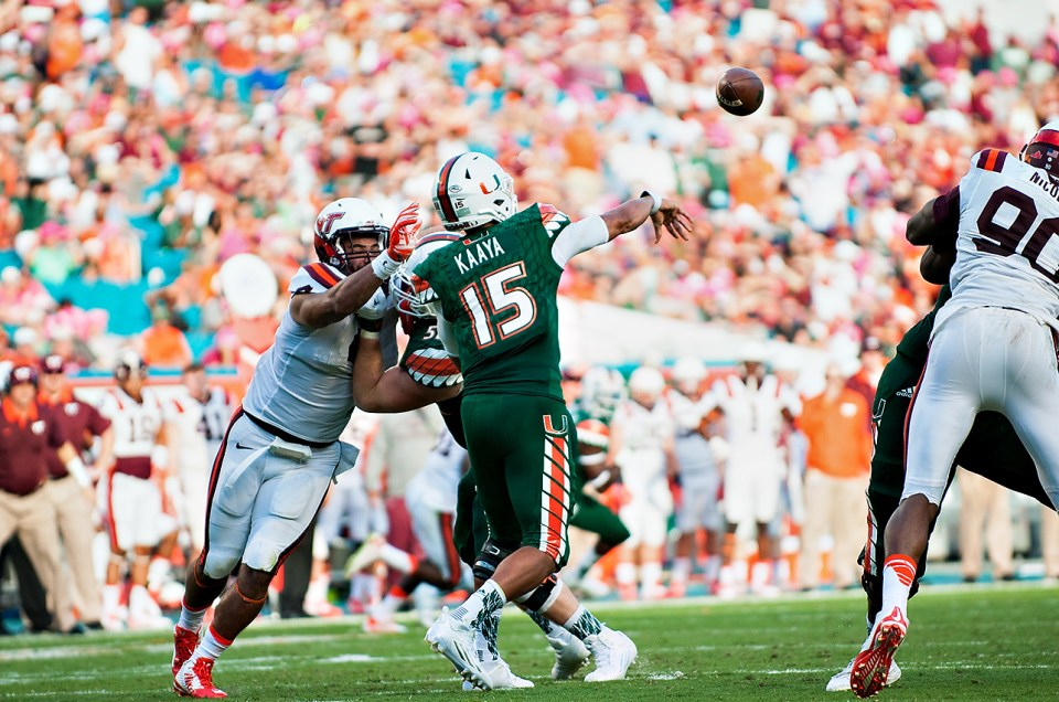 Miami Hurricanes vs. Virginia Tech Hokies